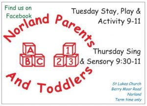 Norland parents and toddlers